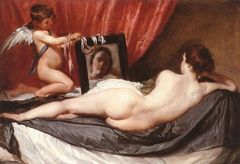 La Venus en el espejo Velazquez