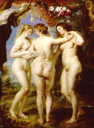Las tres Gracias Peter Paul Rubens 1625 1630