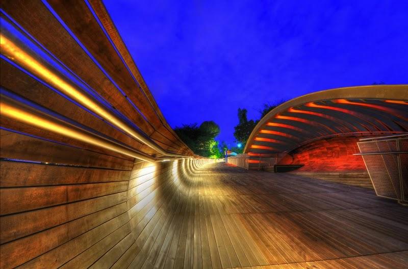 Puente ondulado Henderson Singapur 3