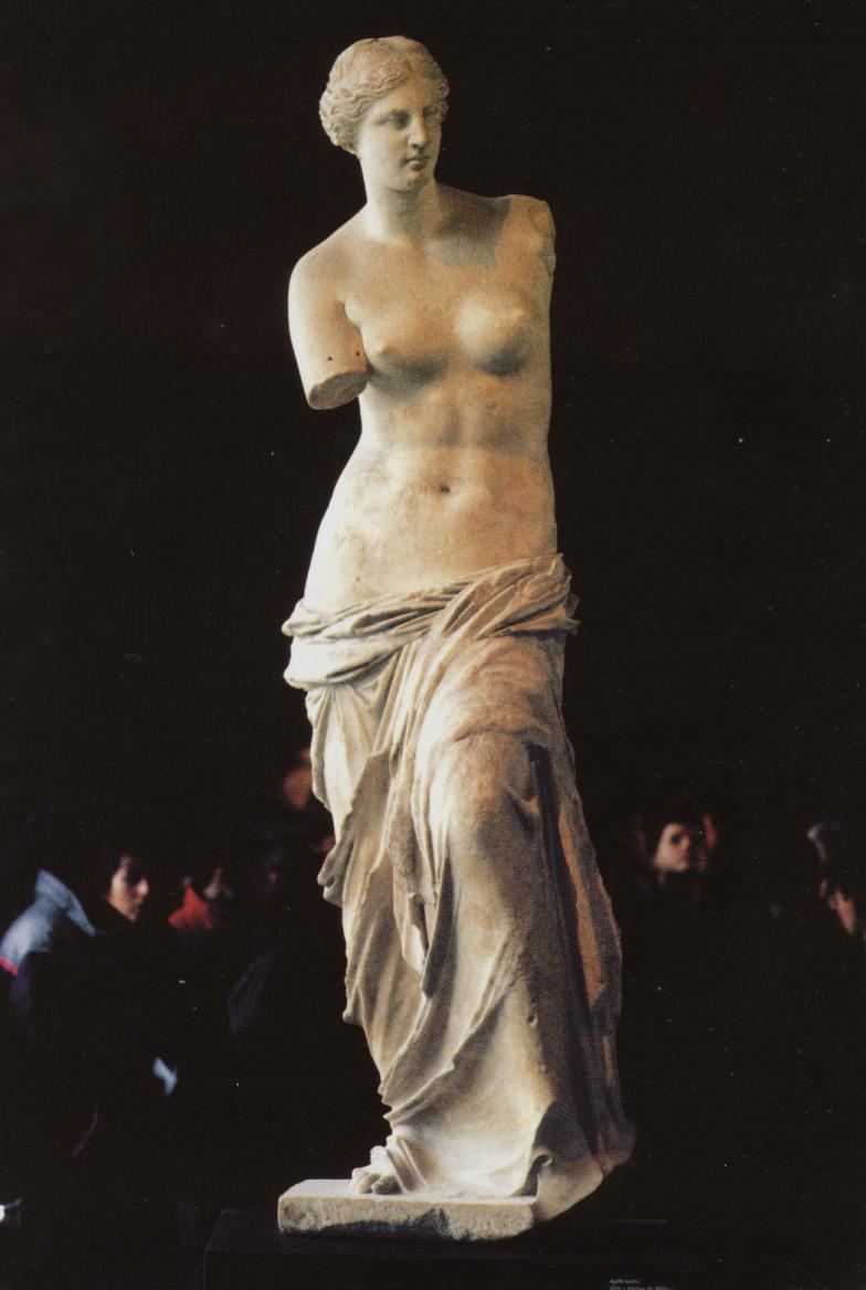Venus de Milo periodo helenistico escultura