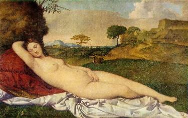 Venus dormida 1510 Giorgione Giorgio da Castelfranco