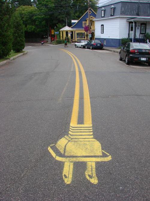 arte-calle-carretera-lineas