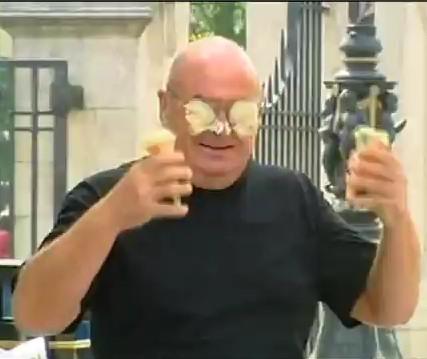 broma helado cara gafas