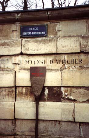 catacumbas paris catacombes Denfert-Rochereau