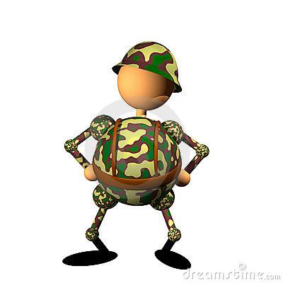 clipart-soldado
