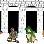 dilema puertas perros soldados cocodrilos leones