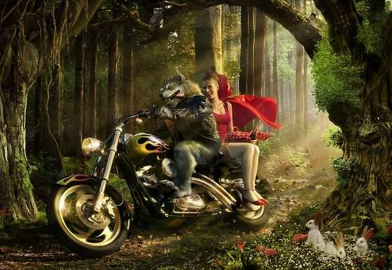 disney princesas caperucita roja cuentos
