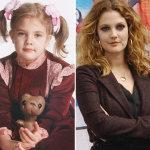 Antes y después: Drew Barrymore