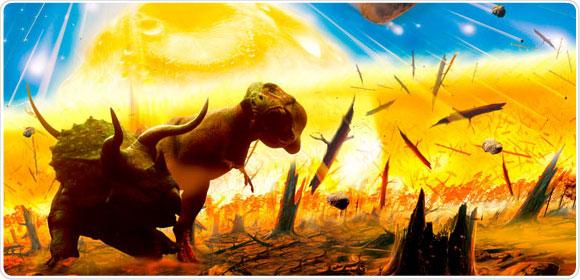 extincion-dinosaurios-calor-fuego