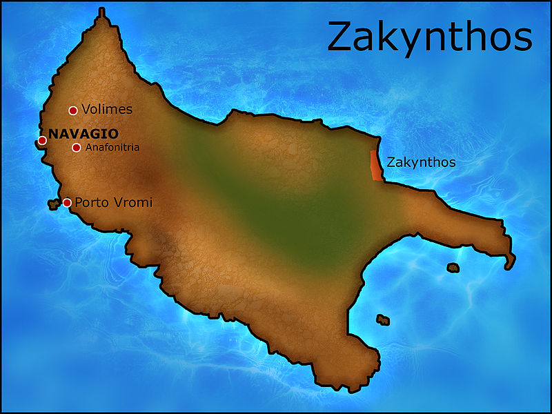 isla griega Zakynthos_Navagio