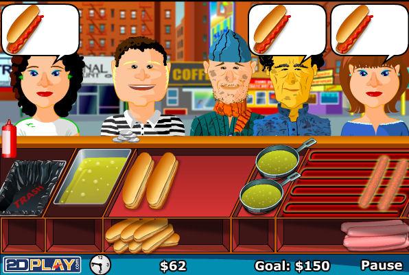 juego-bush-puesto-trabajo-hot-dog