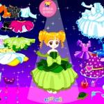 Juego de vestir a la muñequita princesa