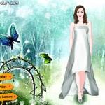 Juegos de vestir a la novia del bosque