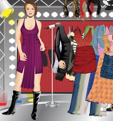 juego vestir peinar lindsay lohan
