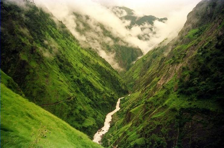 naturaleza-bella-valle verde