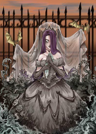 pin-up-femenino-gotico-mistico-novia