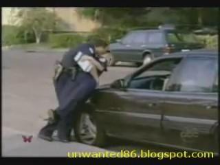 policias acaramelados broma camara oculta