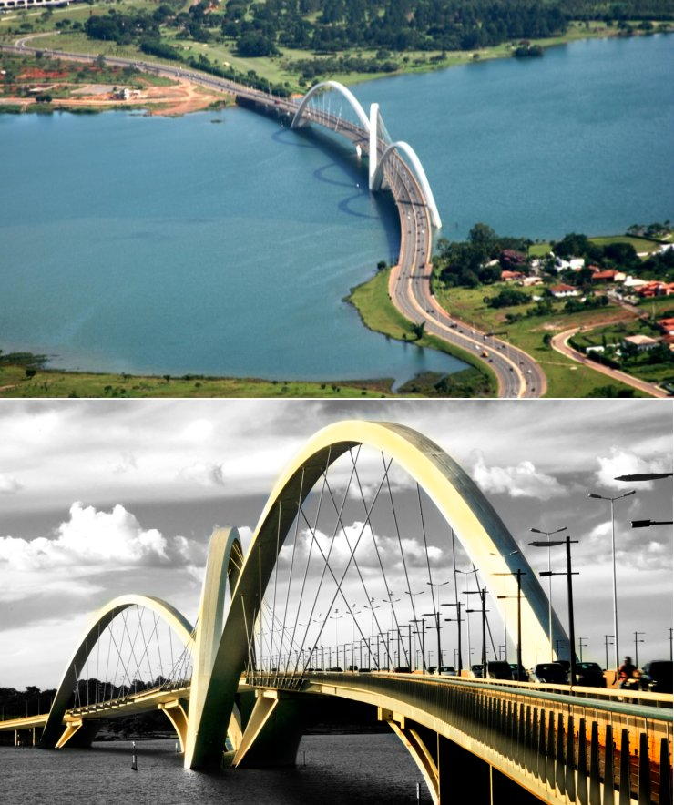 puente Juscelino Kubitschek Brasilia Brasil
