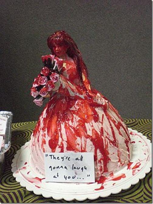 tartas raras originales carrie sangre