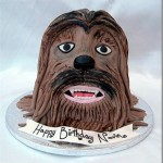tartas raras originales chewbacca star wars