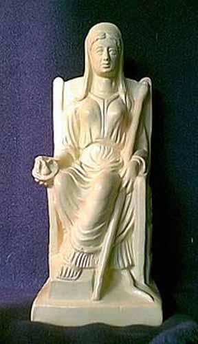 vesta hestia estatua