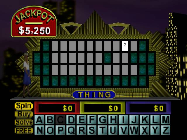 wheel of fortune nintendo 64
