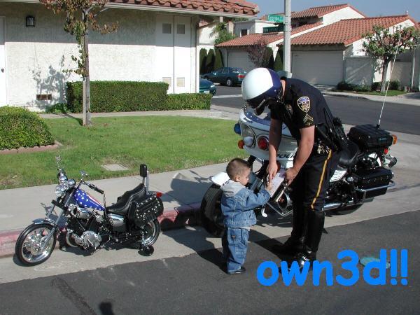 Owned multa policia