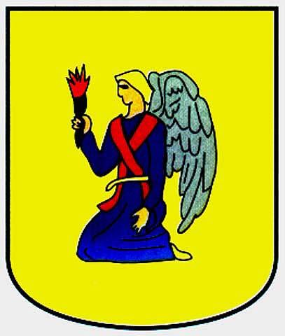 angel apellido escudo armas