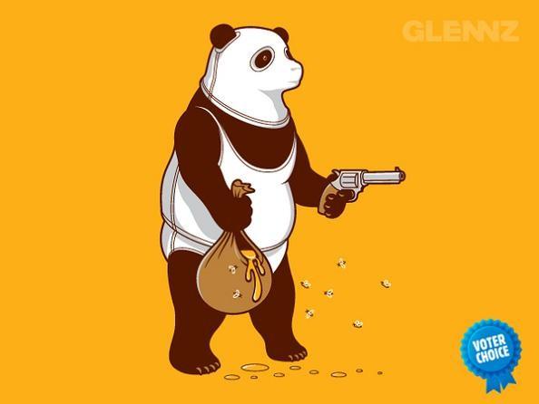 bear-with-gun-taking-honey