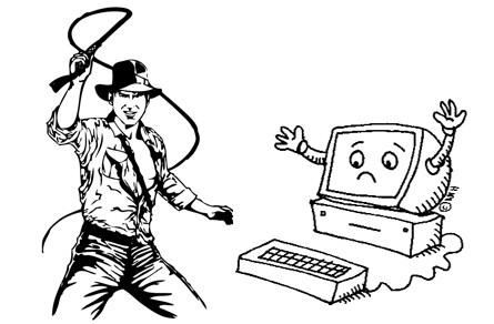 dominar ordenador indiana jones