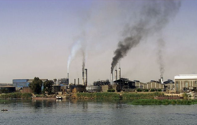 fabricas contaminacion aire humos