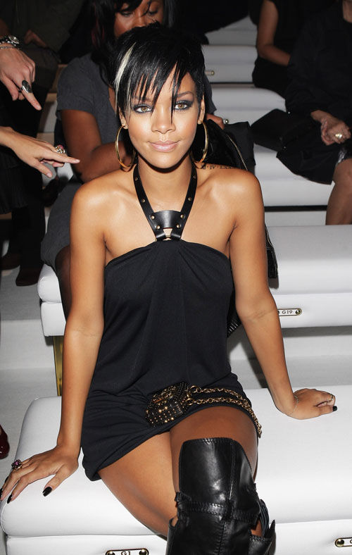 rihanna gucci fashion show milan 24 8 2008