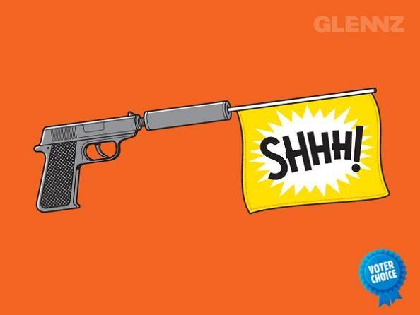 gun-with-silencer