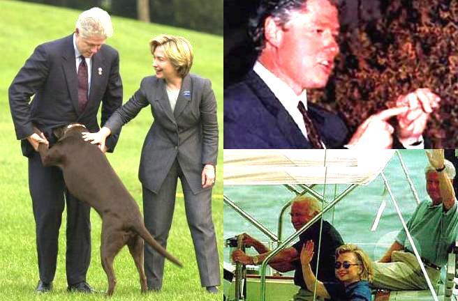 imagenes humor bill clinton hillary
