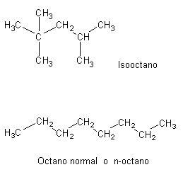 isooctano-octano-molecula