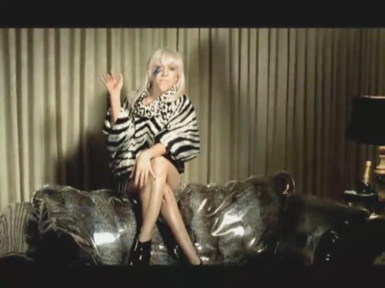 just dance lady gaga video