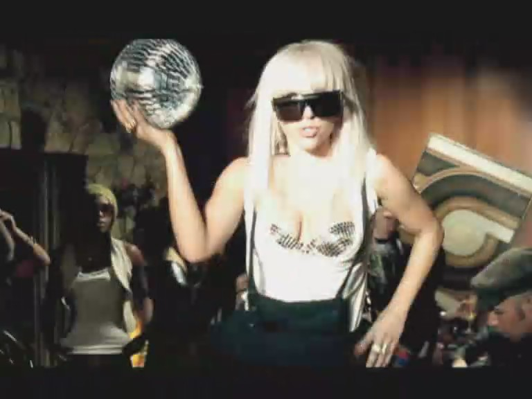 just dance lady gaga video