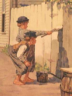 las aventuras tom sawyer