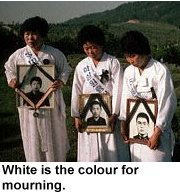 luto-blanco-budista