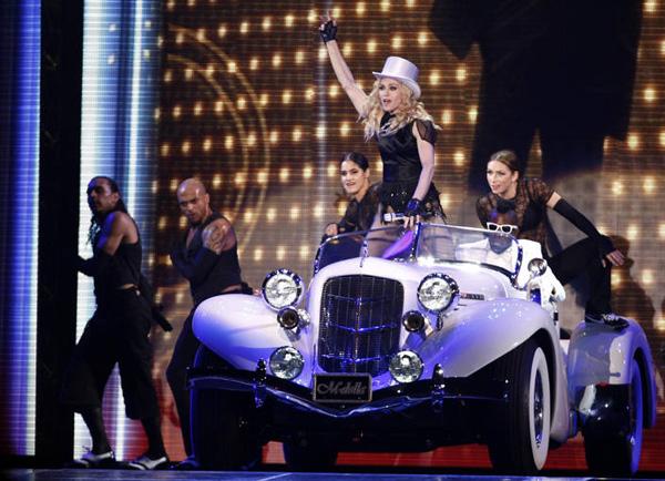Madonna Sticky and Sweet tour Sevilla