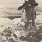 Masacre por los alemanes en Kerch, 1942