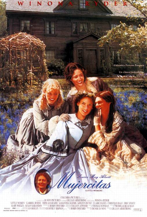 mujercitas-1994 cartel pelicula little women