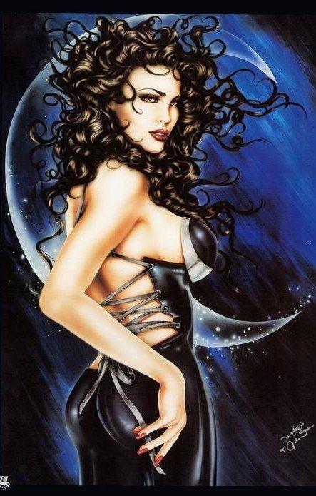 mujeres-fantasia-magia-pin up