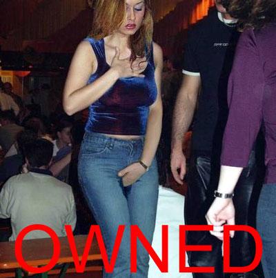owned pantalon meado