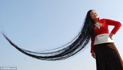 pelo cabello largo Chenq Shiquin