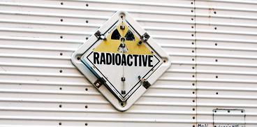 senal radioactividad radiactiva