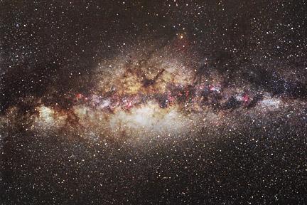 via_lactea_centro nucleo galactico sagitario
