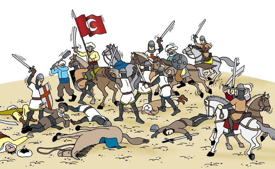 Batalla moros cristianos
