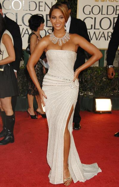 Beyonce Knowles 2009-Golden-Globes