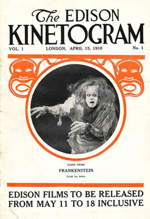 Frankenstein quinetoscopio 1910